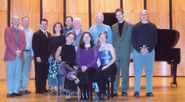 Image of CASA members after Spring 2007 recital